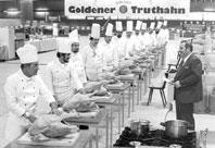 Höhenrainer-Putenwurst-Geschichte-Goldener-Truthahn-Kochwettbewerb