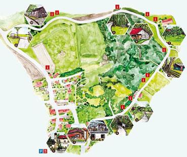 Höhenrainer-Heimat-Bienenlehrpfad-Map