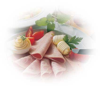 Höhenrainer-Putenwurst-Puten-Bruehwurst-Teller
