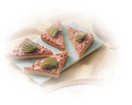 Höhenrainer-Putenwurst-Puten-Leberwurst-Brot