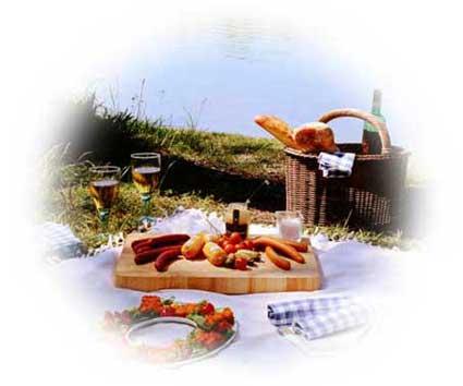Höhenrainer-Putenwurst-Picknick