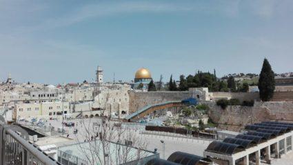 Altstadt Israels, mit Klagemauer und Felsendom
