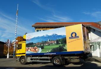 Höhenrainer-Delikatessen-Putenwurst-Firma-LKW