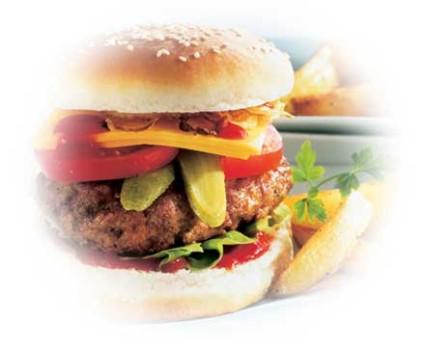Höhenrainer-Putenwurst-Convenience-Burger