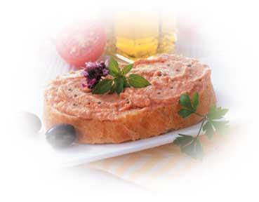 Höhenrainer-Putenwurst-Puten-Leberwurst-Baguette