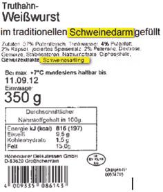 Puten-PAZ-Weisswurst-Hoehenrainer-Putenwurst-Lebensmittel-Muslime-Halal-Produkte