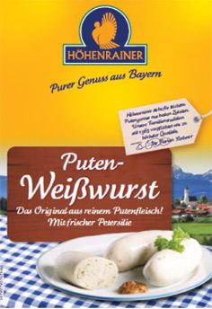 Puten-Schmucketikett-Weisswurst-Hoehenrainer-Lebensmittel-Produkte