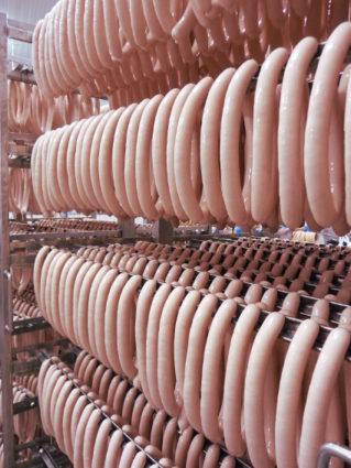Puten-Würstchen-Produktion-Höhenrainer-Delikatessen