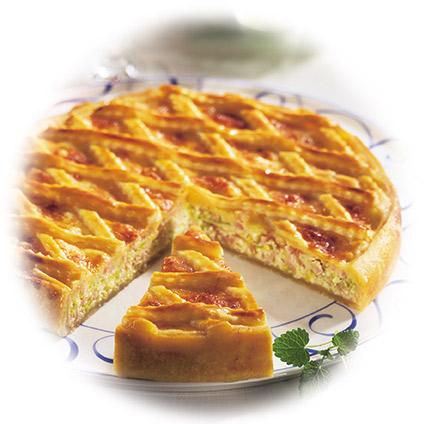 Höhenrainer-Putenwurst-Rezept-Gitterkuchen-Puten-Paprikabrust