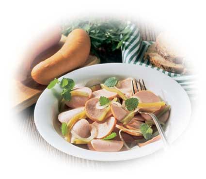 Höhenrainer-Putenwurst-Rezept-Puten-Wurstsalat