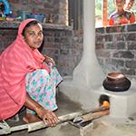 Saubere Kochöfen in Bangladesh